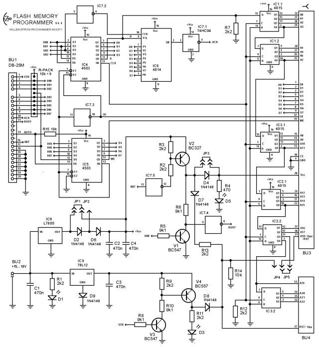 EZoFlash+4v4 Эл.схема.