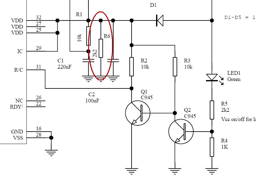 Схема программатора lpc fwh.