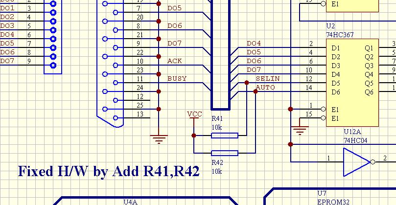 Схема программатора для attiny
